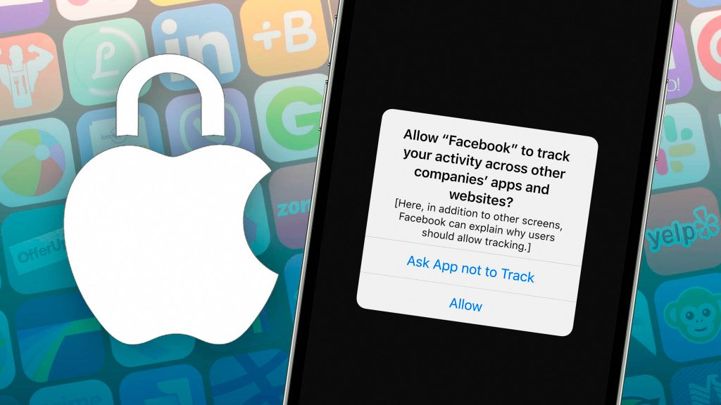 iOS 14.5 asks for permission to track user activity and gather the information for Facebook